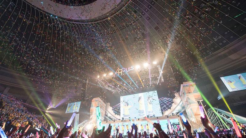 ラブライブ!スクールアイドルフェスティバル(スクフェス) ライブイベントの様子
